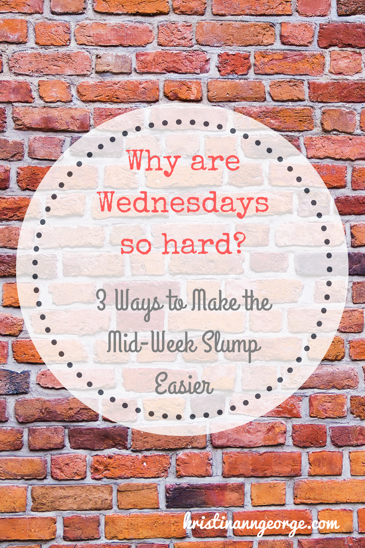 Why are Wednesdays so Hard